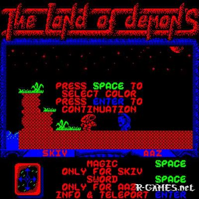 THE LAND OF DEMONS (ONLINE)