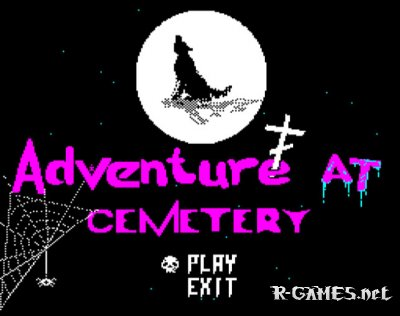 ADVENTURE AT CEMETERY