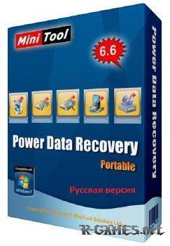 Portable MiniTool Power Data Recovery v6.6.0