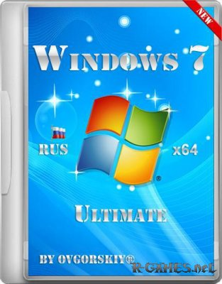 Microsoft Windows 7 Ultimate Ru x64 SP1 by OVGorskiy (20.04.2012)