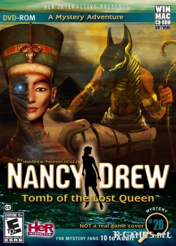 Nancy Drew - Tomb of the Lost Queen (ENG) 2012 / PC