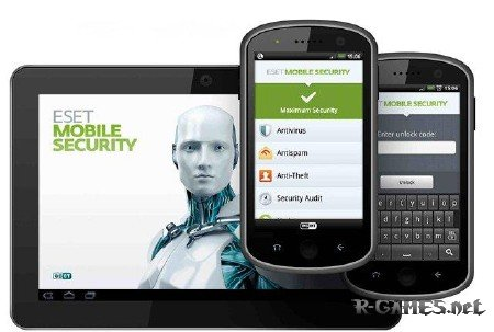 Антивирус ESET Mobile Security v1.1.567.870. для Android (2012/RUS).