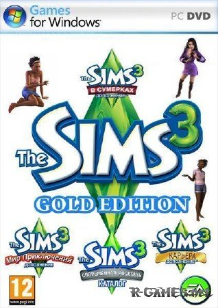 The Sims 3 Gold Edition v.13.0.62.016001. / Store May 2012 (2009-2012/RUS/SIM)