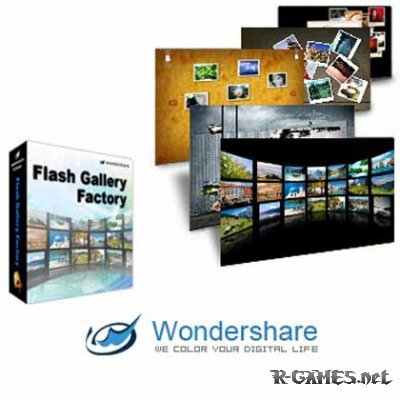 Wondershare Flash Gallery Factory Deluxe 5.2.1.15 Portable
