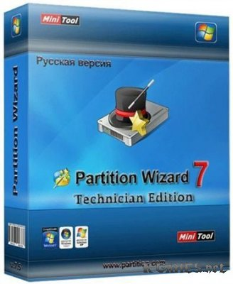 MiniTool Partition Wizard Technician Edition 7.5 Portable