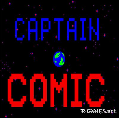 CAPTAIN COMIC