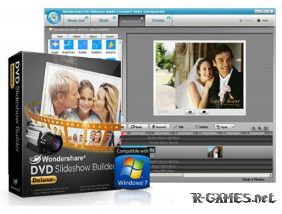 Wondershare DVD Slideshow Builder Deluxe 6.1.11.65 Portable
