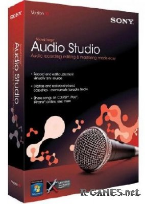 Sound Forge Audio Studio v10.0.178 Portable