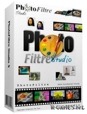 PhotoFiltre Studio X 10.7.0 Portable