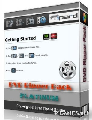 Tipard DVD Ripper Pack Platinum 6.1.36 Portable