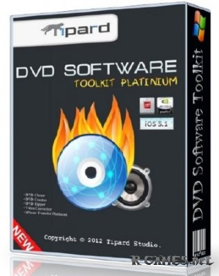 Tipard DVD Software Toolkit Platinum 6.1.52.10815 Portable