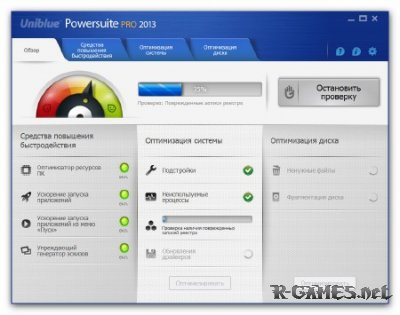 Uniblue PowerSuite Pro 2013 4.1.4.0 Final (2012) MULTI (RUS)