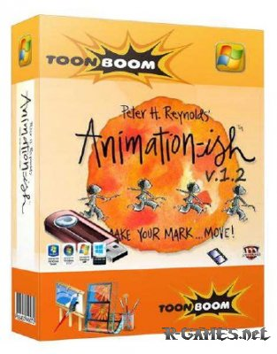 Toon Boom Animation-ish Home 1.2.12841 Rus Portabe
