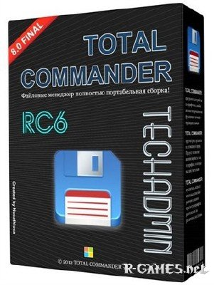 Total Commander v 8.01 Final TechAdmin (RC6) Rus Portable
