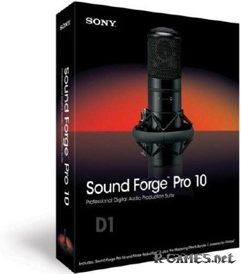 Sony Sound Forge Pro v10.0.506 Portable