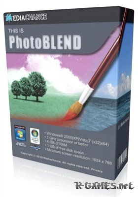 Mediachance Photo BLEND 3D 1.5.1+Rus