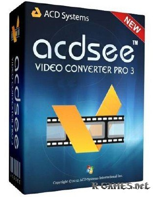 ACD Systems ACDSee Video Converter Pro 3.0.24.0 Rus Portable