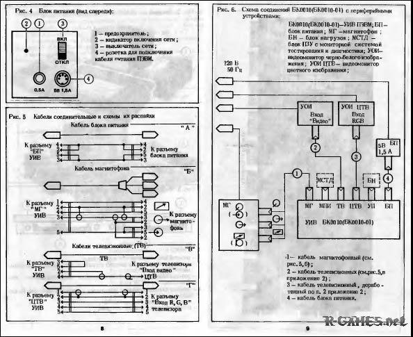 Схемы БК 0010-01