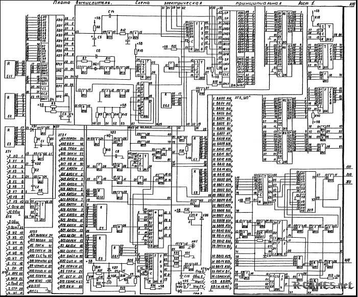Схемы БК 0011М