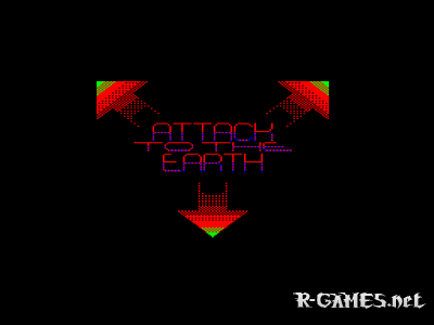ATTACK TO THE EARTH (РЕКЛАМА) (БК0011М)