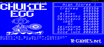 CHUKIE EGG v.1.2 (CRACKED VERSION)
