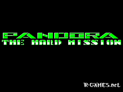 PANDORA - THE HARD MISSION (РЕКЛАМА) (БК0011М)