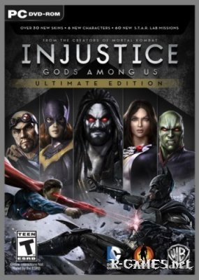 Injustice: Gods Among Us Ultimate Edition (v1.0.2746/Update 3/2013/RUS/ENG) RePack by Gendalf
