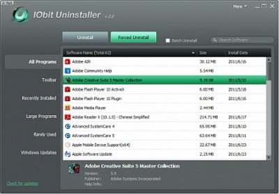 IObit Uninstaller 4.0.4.25 Portable
