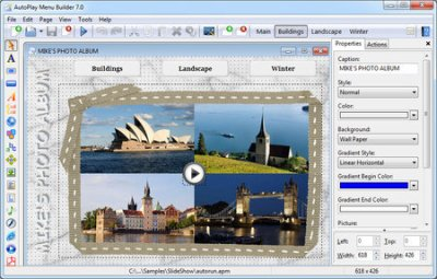 AutoPlay Menu Builder 7.3.0 Build 2399 Portable