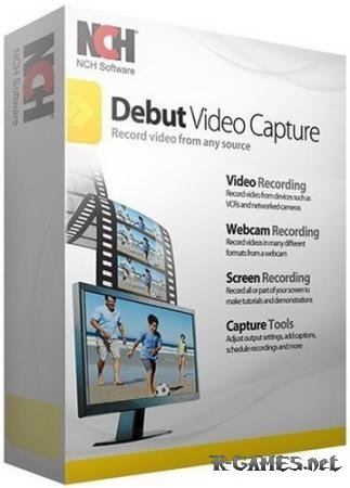 NCH Debut Video Capture Software Pro 4.08 Rus Portable